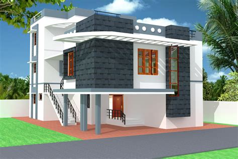 home design 3d elevation modern 3d home elevation gharexpert