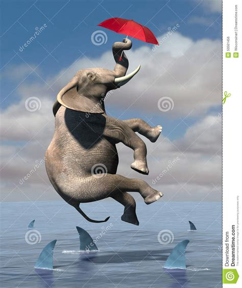 make elephants fly the process of radical innovation books business risk goals sales marketing stock illustration
