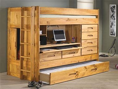 Loft Bed All In One Desk Drawers Trundle Storage In Loft Bunk Beds With Desk And Drawers