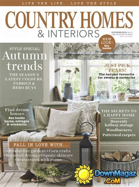 country home design magazines country homes interiors uk october 2015 187 download pdf