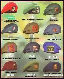 army beret colors beret