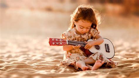 hd wallpaper cute little girl cute little guitarist girl hd wallpaper stylishhdwallpapers