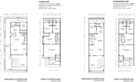 dua residency floor plan dua villas one residence penang property talk