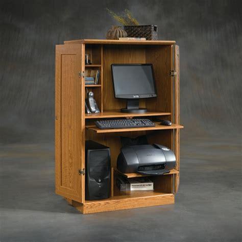 armoire informatique bois armoire informatique et bureau pour ordinateur modernes