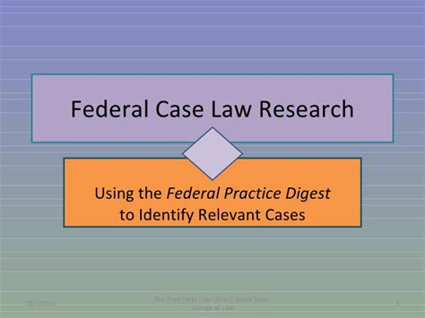 Federal Lawsuit Search Federal Research Flowchart