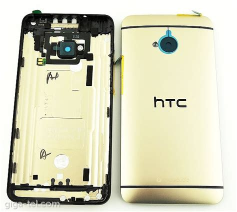 Baterai Battery Htc One M7 htc one m7 battery cover gold