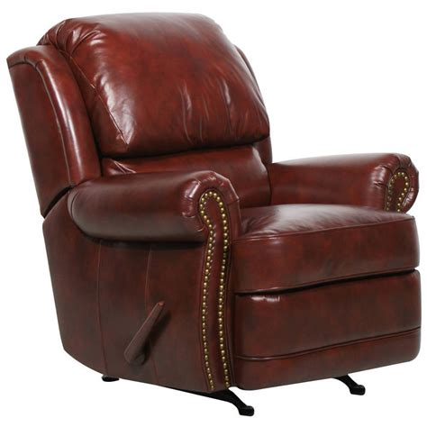 Recliner Chairs Leather by Barcalounger Regency Ii Leather Recliner Chair Leather