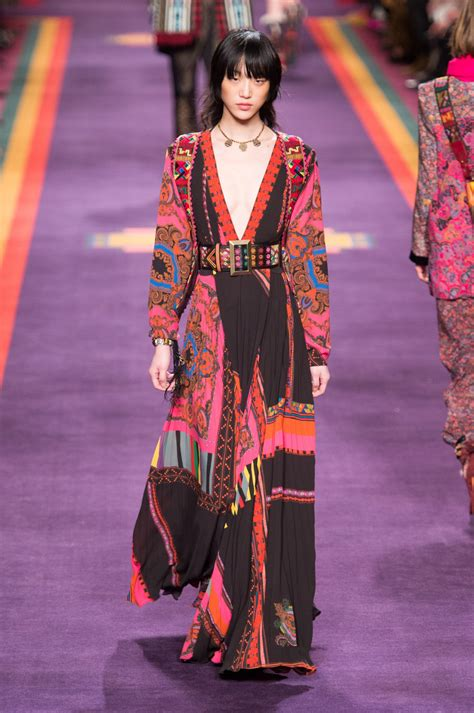 Etro Dress etro fall 2017 milan s dreamiest runway dresses for