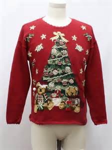 womens ugly bearrific christmas sweater heirloom