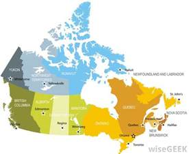 how many provinces does canada with pictures