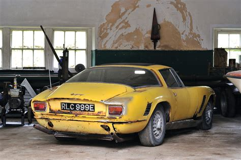 for car barn find 1967 iso grifo