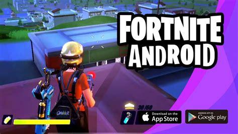 Will Android Get Fortnite fortnite battle royal para android jarem64