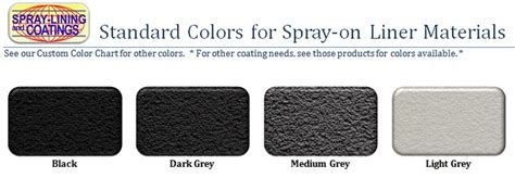 rhino liner color chart compact truck bedliner kit pro