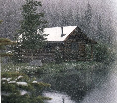 Log Cabin In The Snow by Log Cabin In The Snow L E T S G O