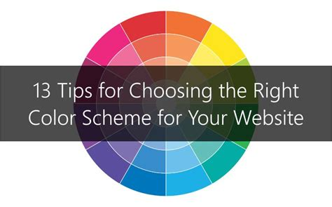 understanding color schemes choosing colors for your website web ascender choosing the right color scheme for your website qualbe