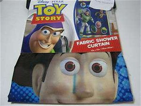 toy story shower curtain toy story fabric shower curtain buzz woody toys play on