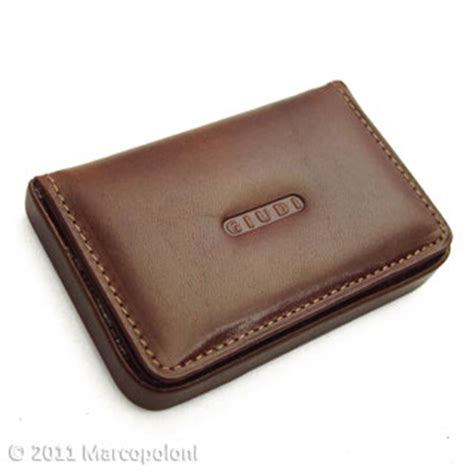 Leather Business Card Holder Template by Leather Business Card Card Holder Tessera By Giudi