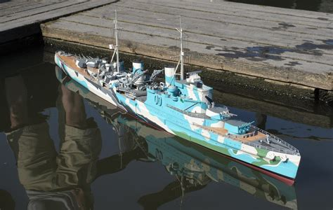 how to build a model boat from scratch hms sheffield scratch built scale rc model boat youtube