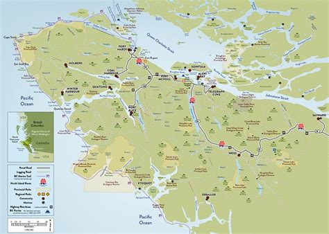 map of vancouver island map vancouver island