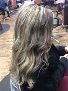 ptatinum highlights on brown hair with platinum blonde highlights pictures dark brown hair