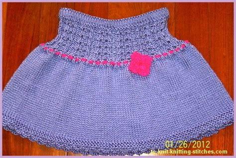 easy knit skirt pattern easy children knitting patterns