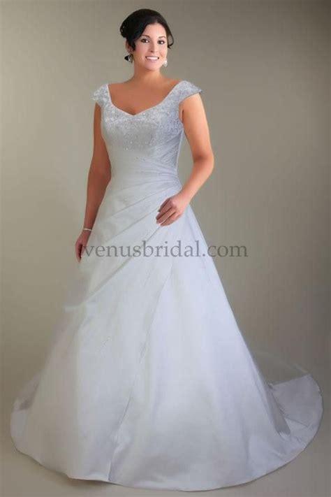 wedding dresses for big busted women   Venus Women Wedding