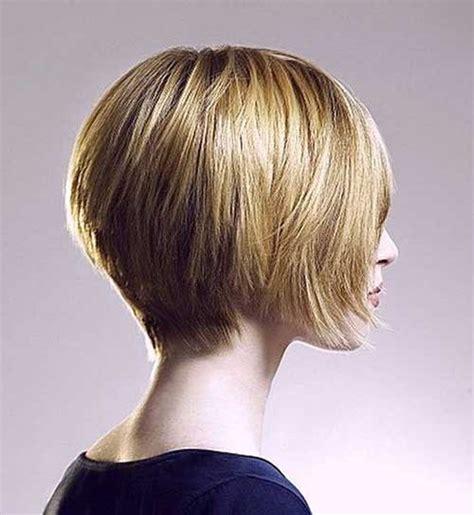 Wedge Stacked Bob Haircut | wedge hairstyles for short hair short hairstyles 2017