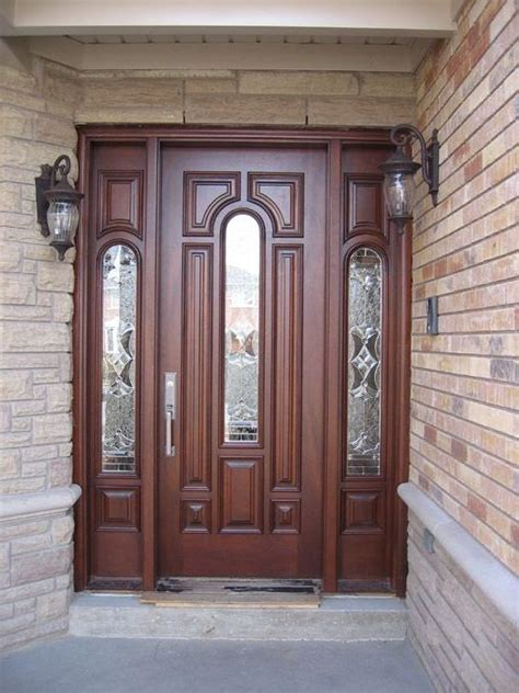 solid wood doors exterior solid wood exterior front doors home design