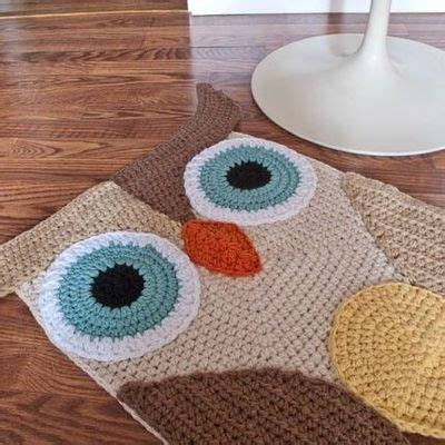 owl rug for nursery crochet owl rug for a nursery continued crochet ideas and tips juxtapost