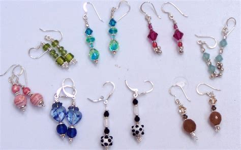 bead earrings how to make earrings to make