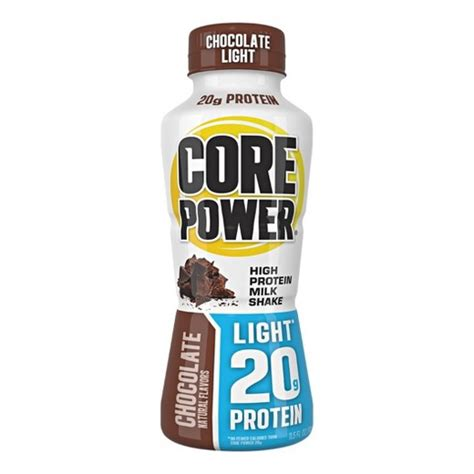 Core Power Chocolate Light Protein Drink 11 5 Fl Oz