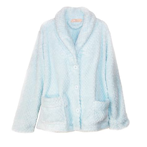 Bed Coat by Womens Button Front Bed Coat By La Cera S