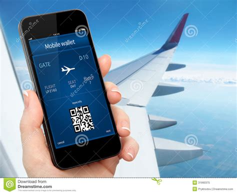 Your Mobile Phones The Ticket To The 02 Wireless Festival With Oyster Card Style Technology by Holding The Phone With Mobile Wallet And Plane