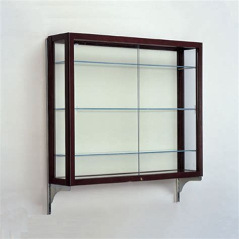 waddell heirloom series wall mounted display cases