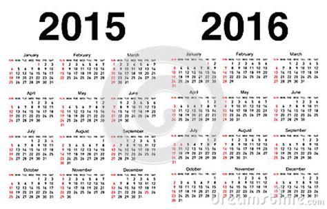 Calendario 015 Colombia Plantilla Calendario Vector Ilustraci 243 N Vector