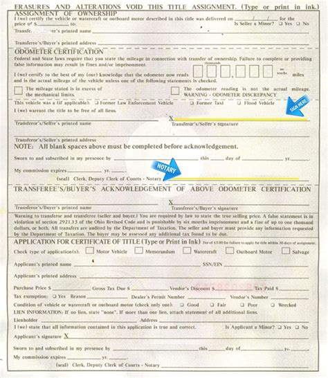 Title Application Meaning Ohio Motor Vehicle Title Vehicle Ideas