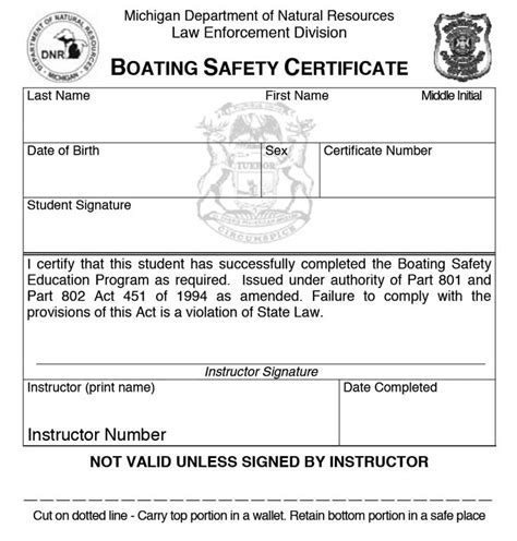 is pa boating license good in nj who may operate a personal watercraft pwc mi boat ed