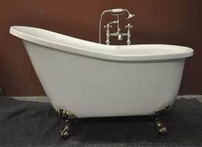 51 quot acrylic slipper clawfoot tub classic clawfoot tub