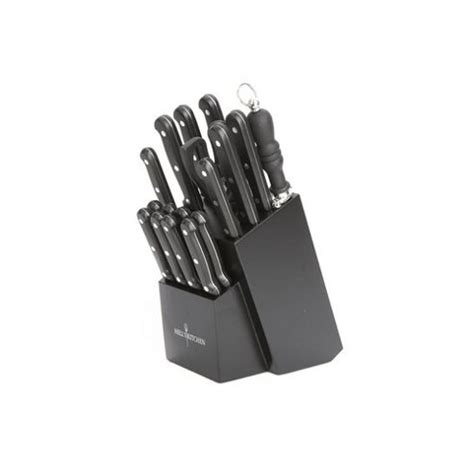 hells kitchen knives buy ethos hell s kitchen 18 knife set from our knives range tesco