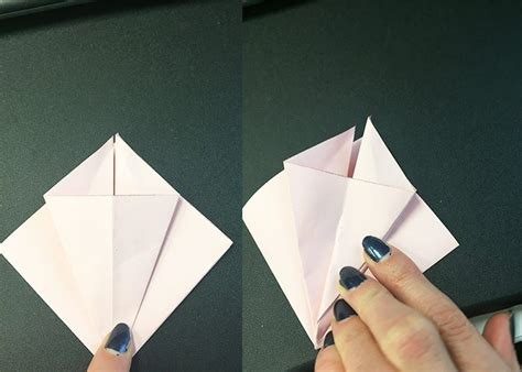 How To Make Paper Lilies - how to make paper origami easter lilies jam paper