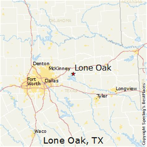 oak texas map best places to live in lone oak texas