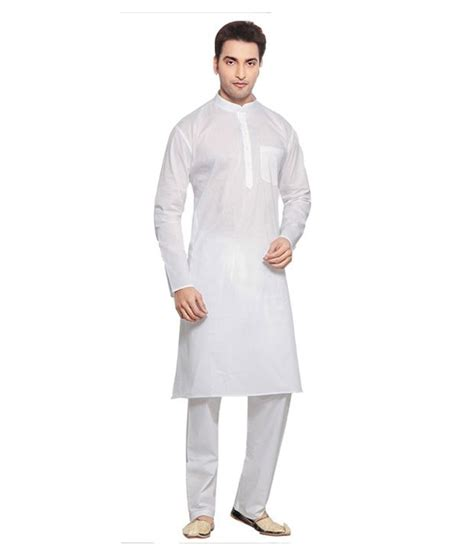 Piyama Royal G royal white slub kurta pyjama set buy royal white slub