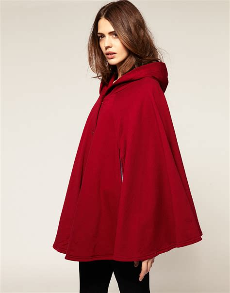 Dress For Withamerican Apparel by American Apparel Fleece Cape In Lyst