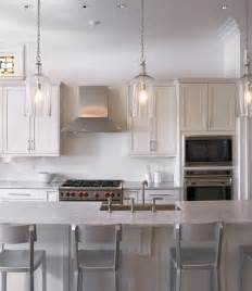 Lighting In Kitchen Ideas by Classic Kitchen Ideas With Silver Chairs And Elegant Glass