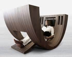 Chairs For Reading by Unique Curved Chair By Claudio D Amore Khosa Interior