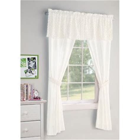 5 piece curtain sets com your zone 5 piece poodle curtain set window