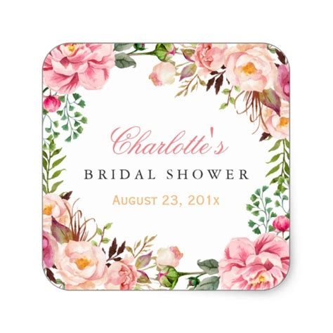 Bridal Shower Stickers