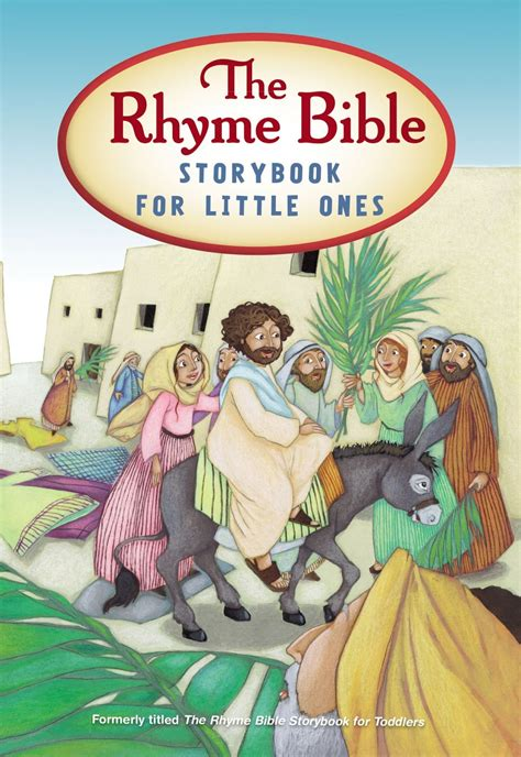 the rhyme bible storybook for ones by l j