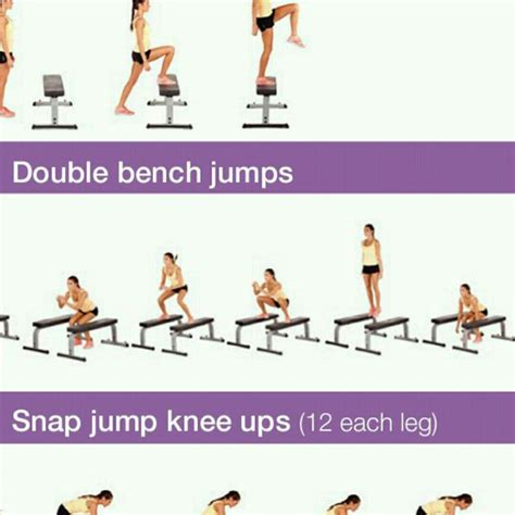 bench jumps exercise double bench jump exercise how to workout trainer by
