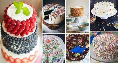 25 Insanely Creative Ways To Decorate A Cake That Are Easy Af | 25 insanely creative ways to decorate a cake that are easy af